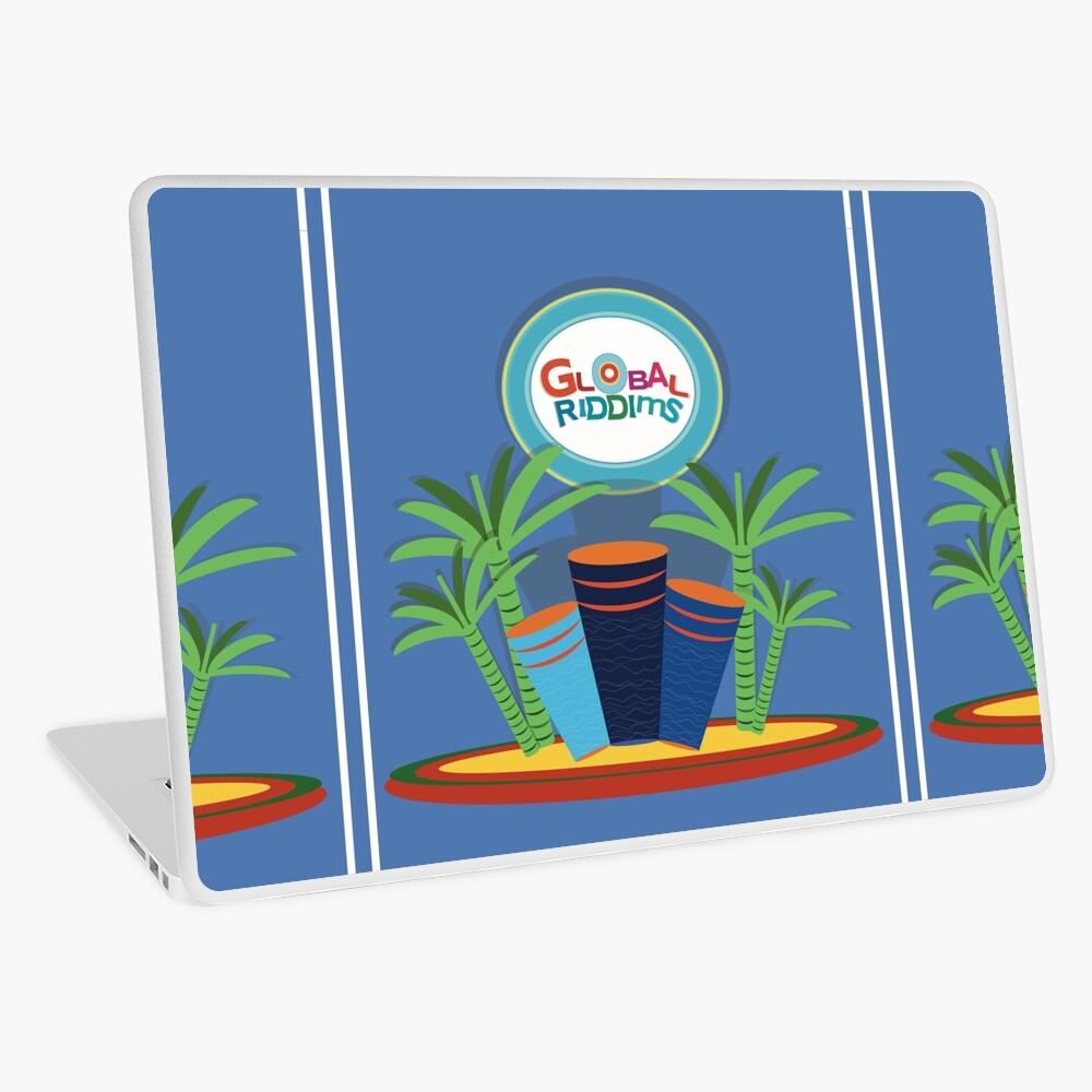 Gobal Riddims (9) Laptop Skin