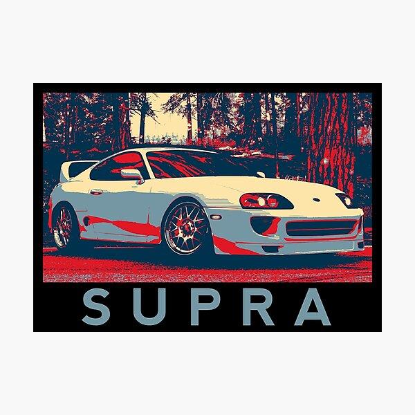 Toyota Supra Front 1 Photographic Print