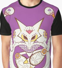 Alakazam Pokemuerto | Pokemon & Day of The Dead Mashup Graphic T-Shirt