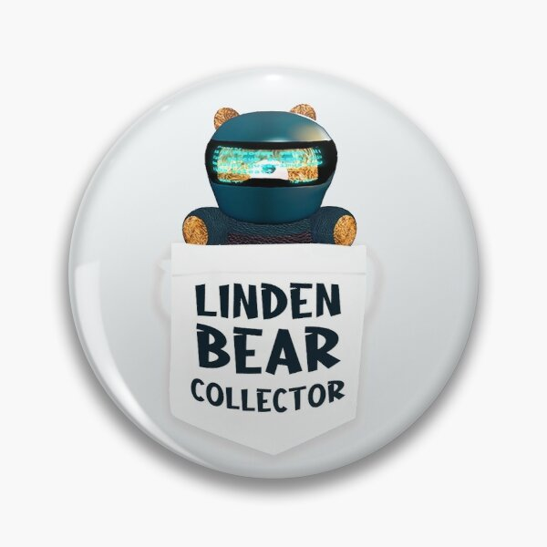 Rider Linden's Bear Pin