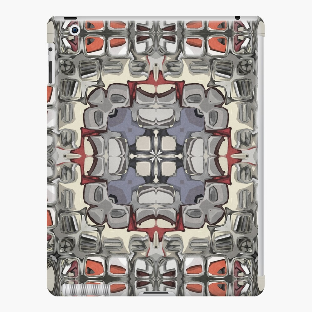 Textured Quadrant Abstract iPad Case & Skin
