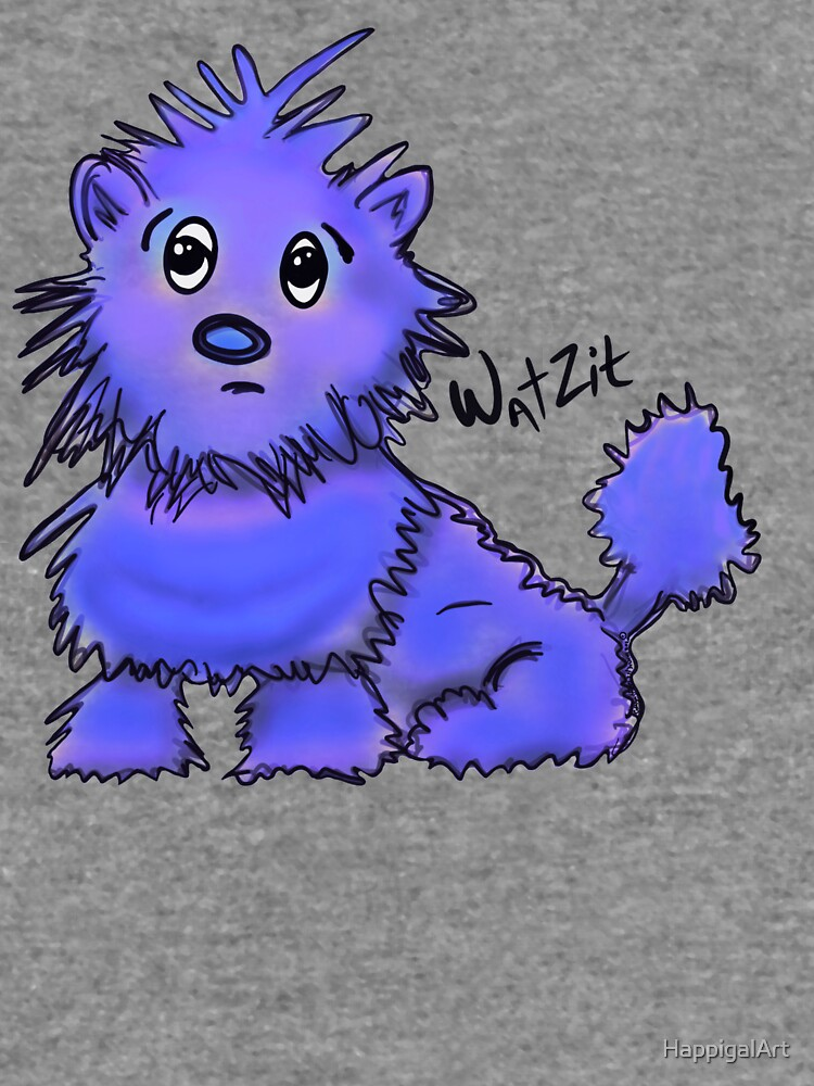 Copy of WatZit Enchanted Mythical Creature Blue by HappigalArt