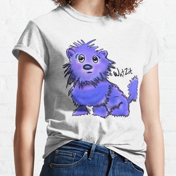 Copy of WatZit Enchanted Mythical Creature Blue Classic T-Shirt