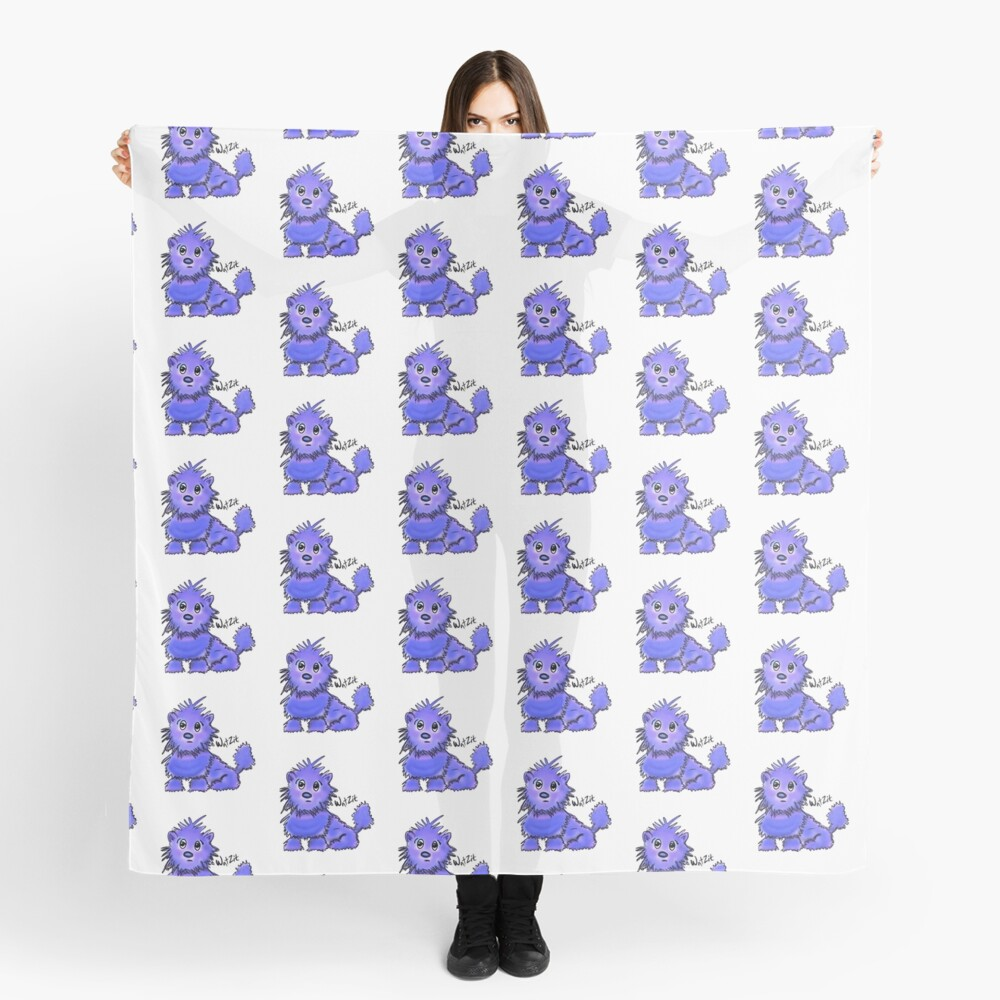 Copy of WatZit Enchanted Mythical Creature Blue Scarf