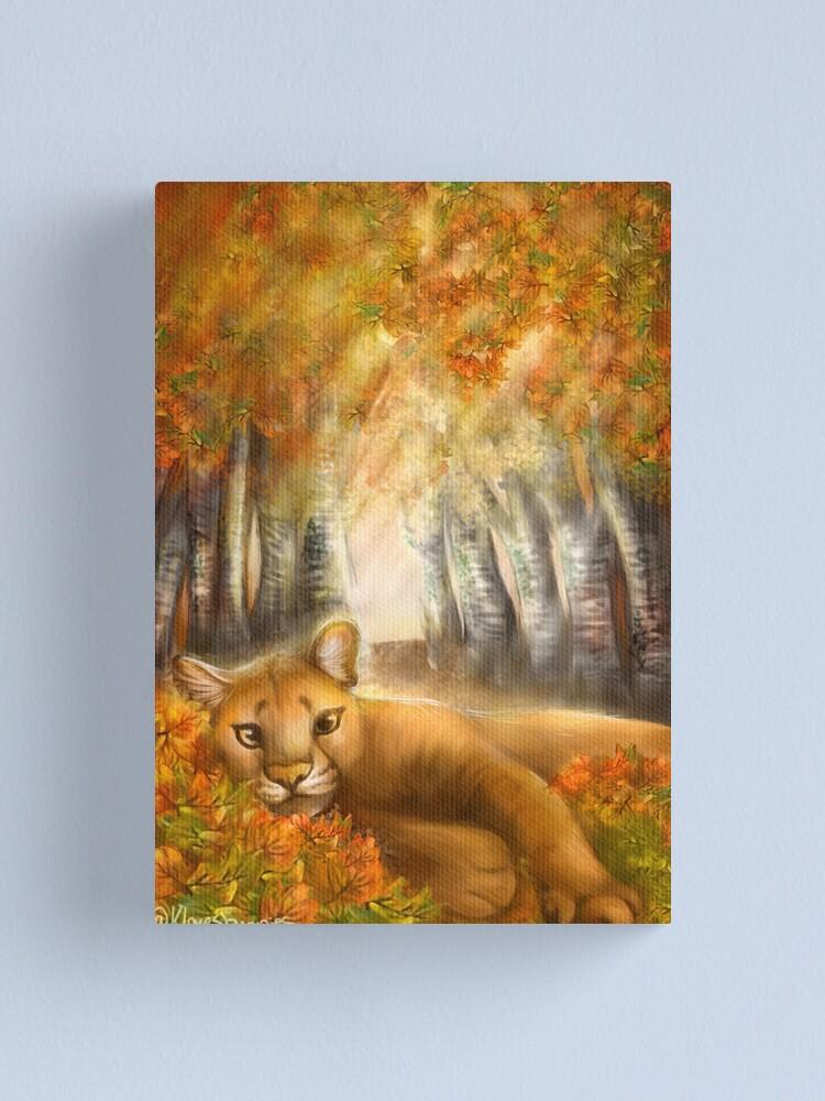 Alternate view of Autumn Days Canvas Print