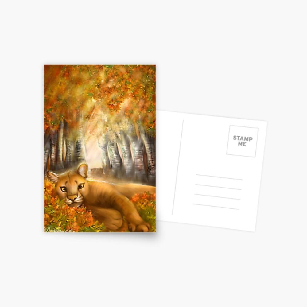Autumn Days Postcard