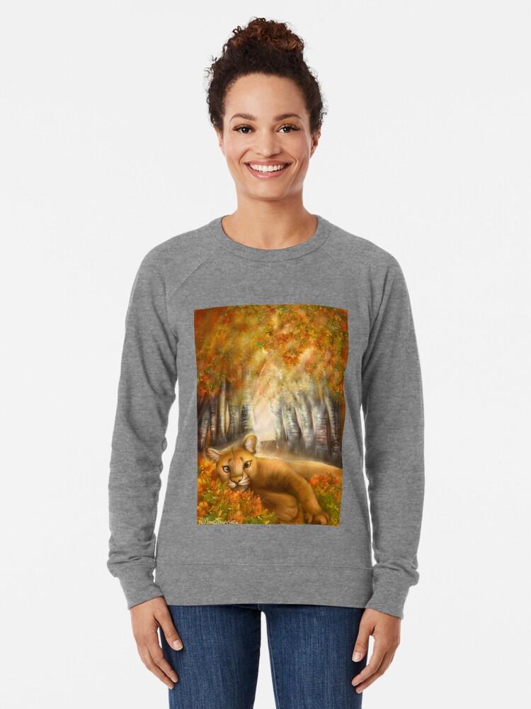 Alternate view of Autumn Days Lightweight Sweatshirt