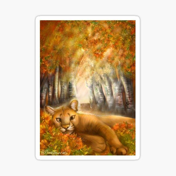 Autumn Days Sticker