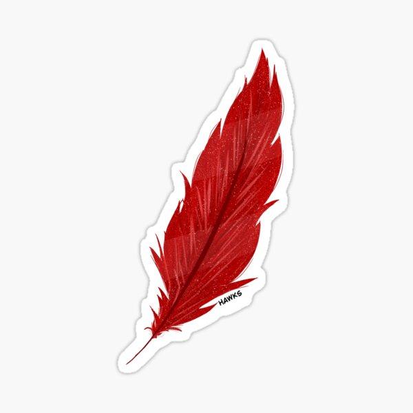 Plume de Keigo Takami (Hawks) Sticker