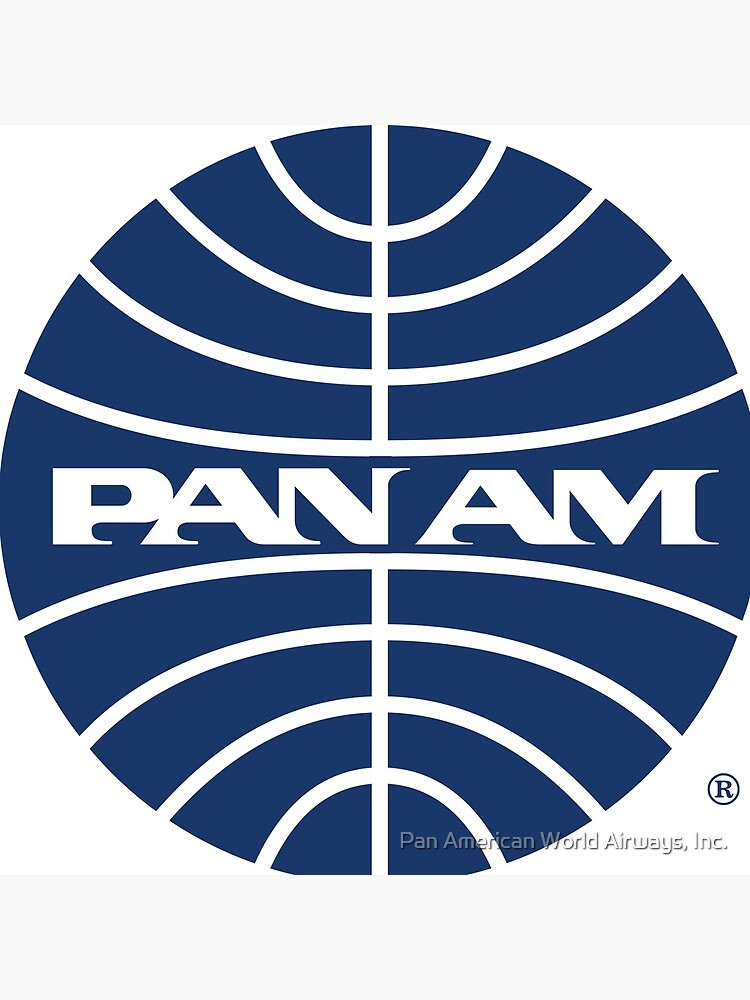 Pan Am Mid 1950s Globe Inverted by panamofficial