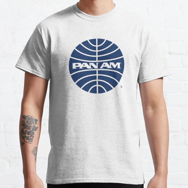 Pan Am Mid 1950s Globe Inverted Classic T-Shirt