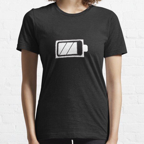 BattleBoxUK SISU T-shirt CrossFit WOD White On Black Gym Fitness