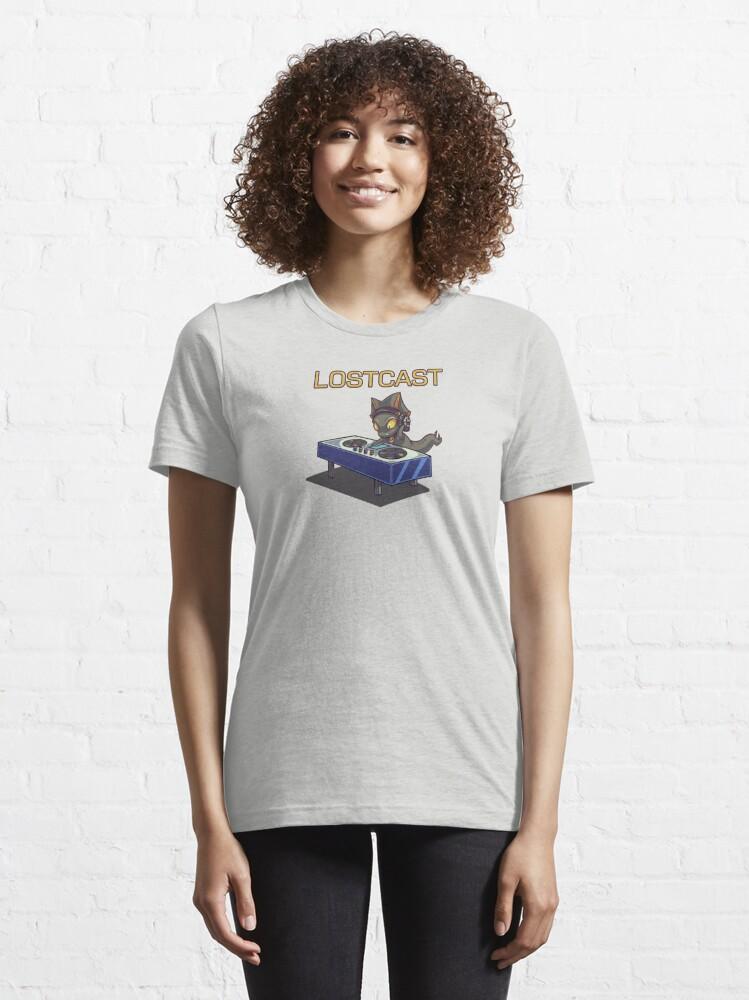 Alternate view of Lostcast with DJ Raga Essential T-Shirt