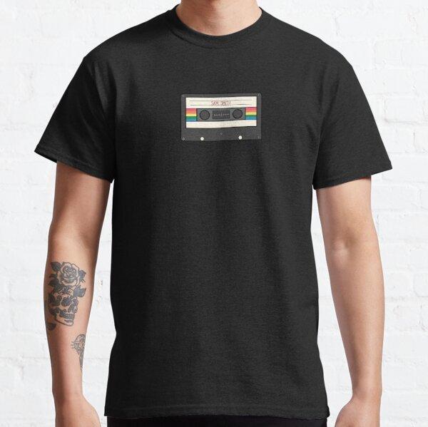 Cinta de casette arcoíris Sam Smith Camiseta clásica