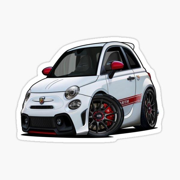 Fiat 595 Abarth esseesse 2020 Sticker