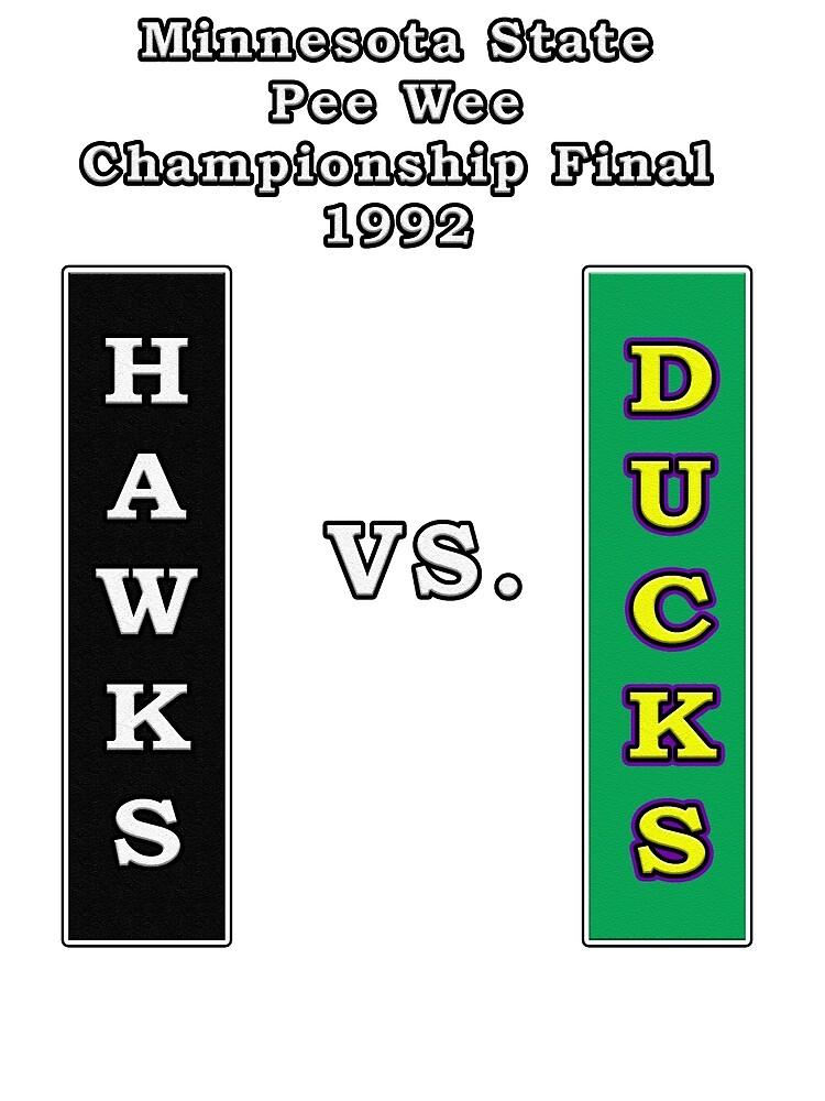 Minnesota Pee Wee Final 1992 by MightyDucksD123