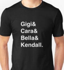 The Instagirls - BLACK Slim Fit T-Shirt