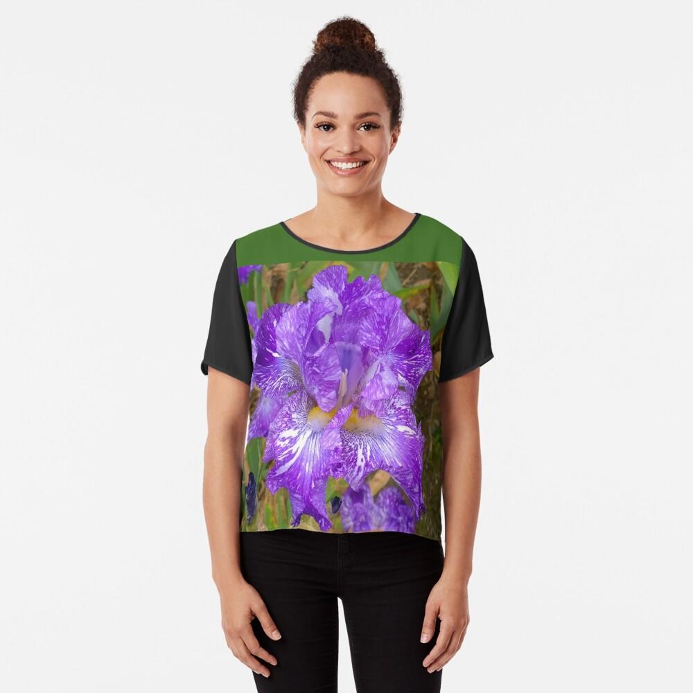 Montclair New Jersey-Presby Iris Gardens Chiffon Top