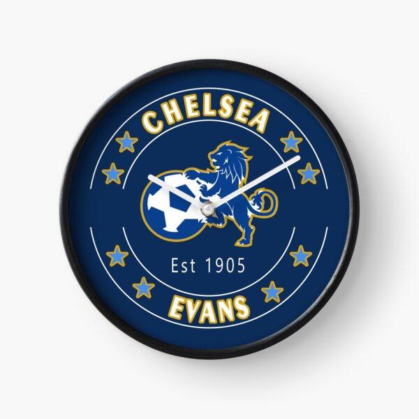 EVAN's CHELSEA FAN Birthday or Christmas Gift Clock