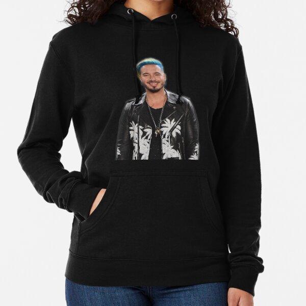 Camiseta de J Balvin, fan art de j Balvin y equipo Sudadera ligera con capucha