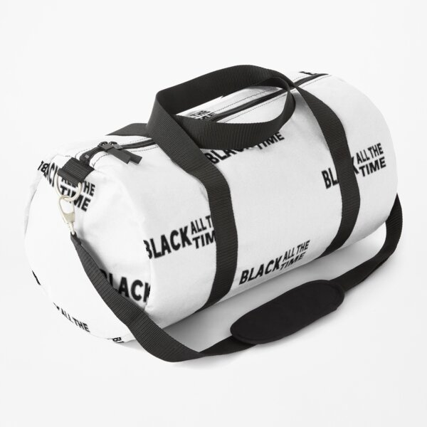 Black All The Time Essential  Duffle Bag