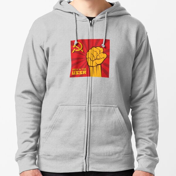 Back in the USSR / Назад в СССР Zipped Hoodie