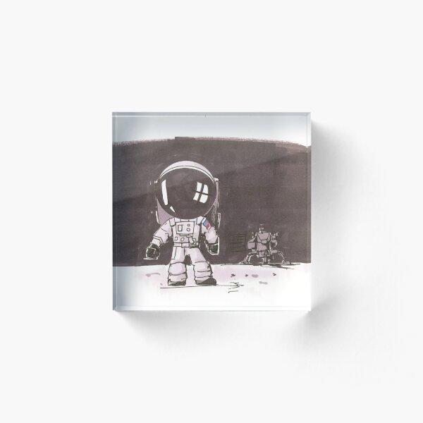 The Next Generation Astronaut Acrylic Block
