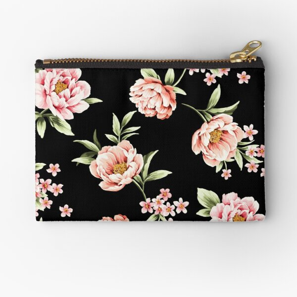 Peony flowers Zipper Pouch