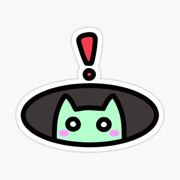 SLIME CAT AND FRIENDS: Surprise! Sticker