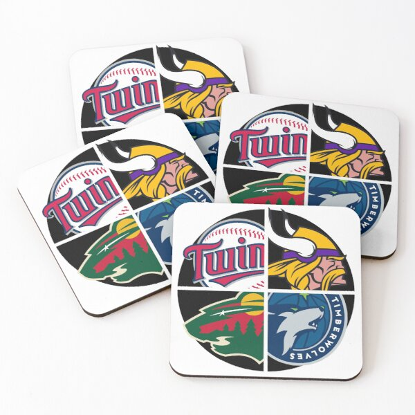 Minnesota Sports Teams Coasters (Set of 4)