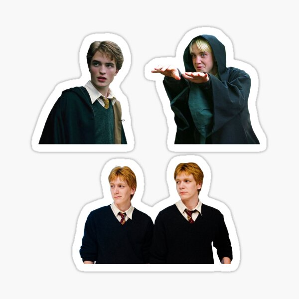 heartthrob trio pack Sticker