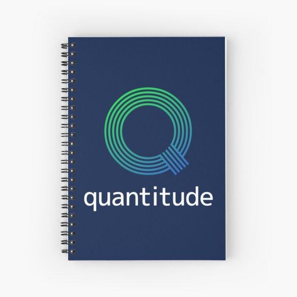 Quantitude Notebook Spiral Notebook