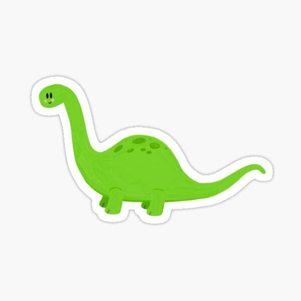 KT the Delightful Dinosaur Sticker