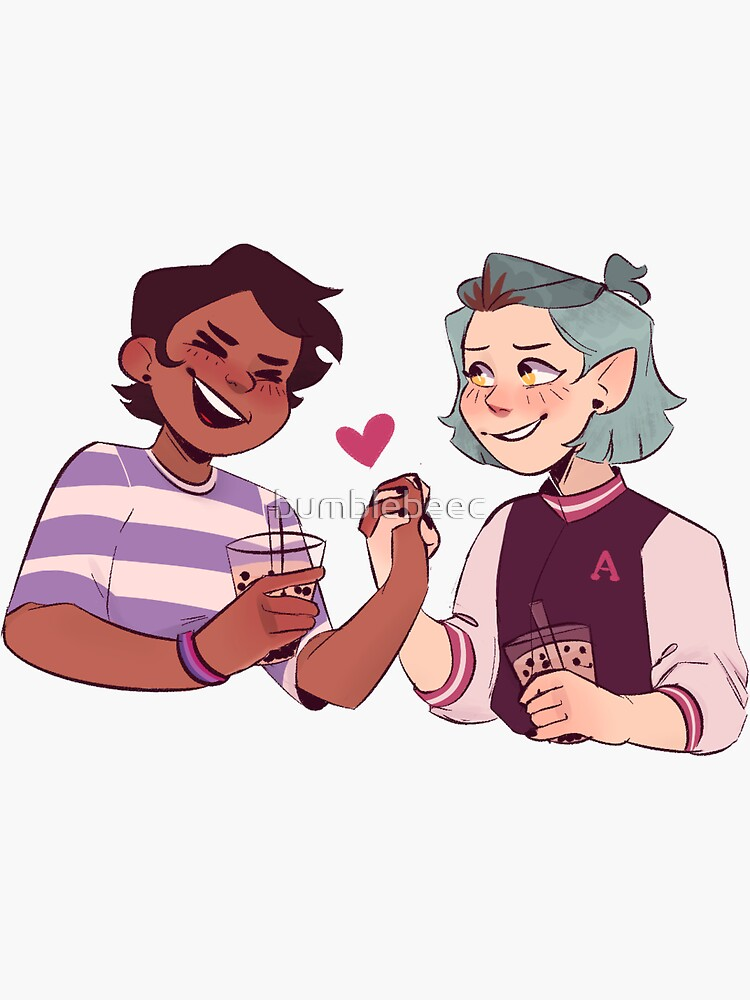 Lumity boba date by bumblebeec