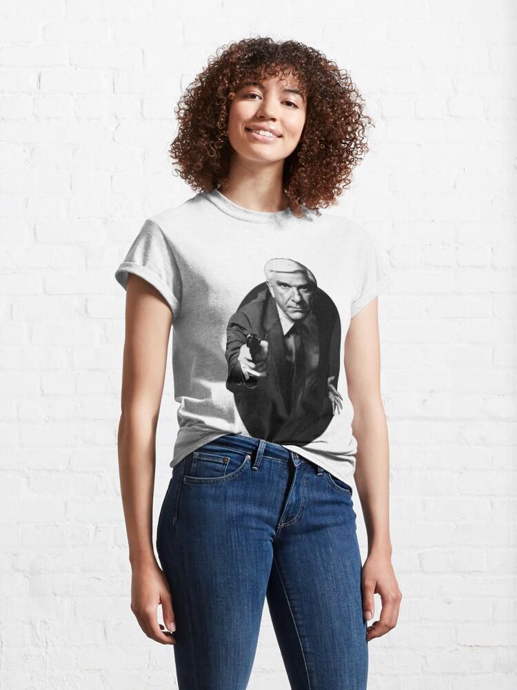 Alternate view of Leslie Nielsen, Naked gun Classic T-Shirt