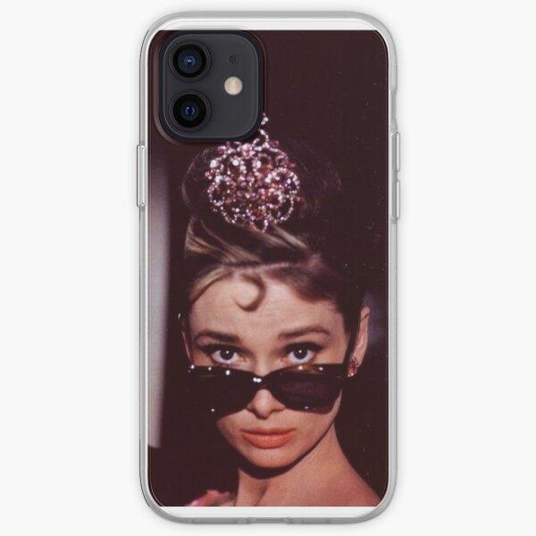 Audrey Hepburn Portrait iPhone Soft Case