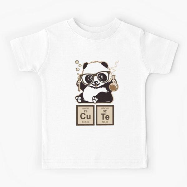 Chemistry panda discovered cute Kids T-Shirt