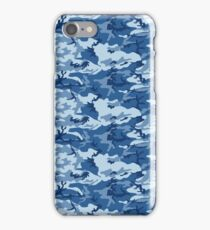 CAMO NAVY iPhone Case/Skin