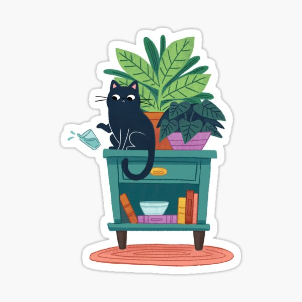 Cats Are Rude  Sticker