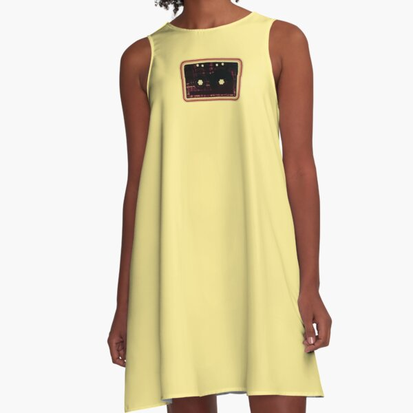 Wormhole Cassette #2 A-Line Dress