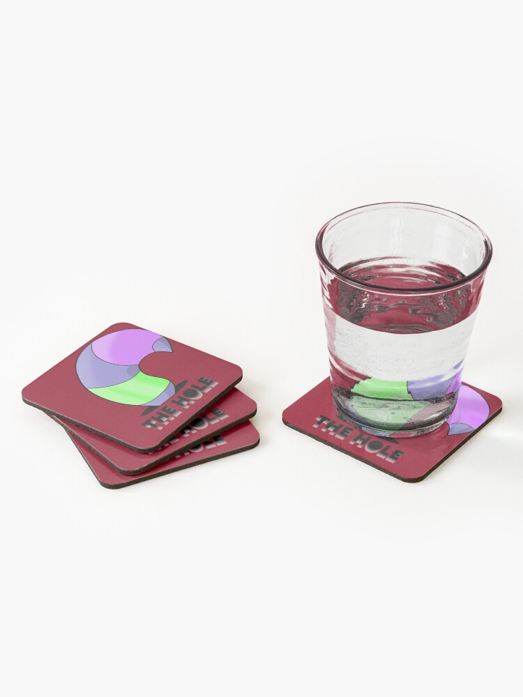 Alternate view of The Hole Coasters (Set of 4)