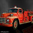 1955 Diamond T Fire Truck - An American Classic by Betty Northcutt