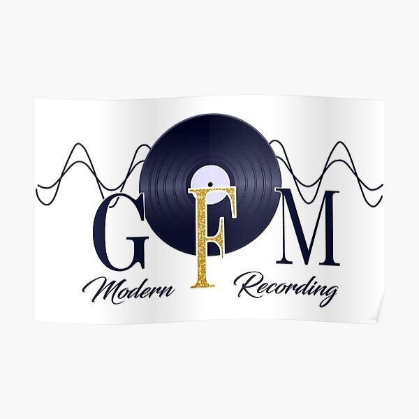 GFM Record Logo Big Poster