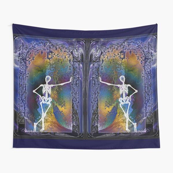 Gateway: Halloween Skeleton Tapestry