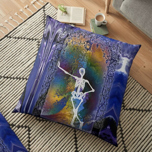 Gateway: Halloween Skeleton Floor Pillow