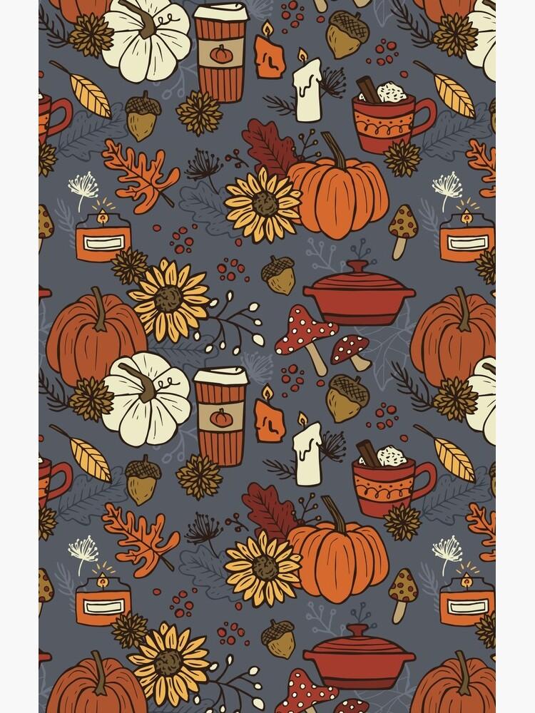Cozy Fall Vibes Pattern by meghanmarie