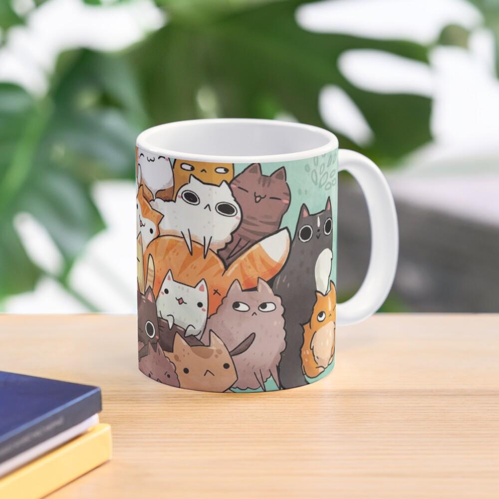 Pile o cat  Mug