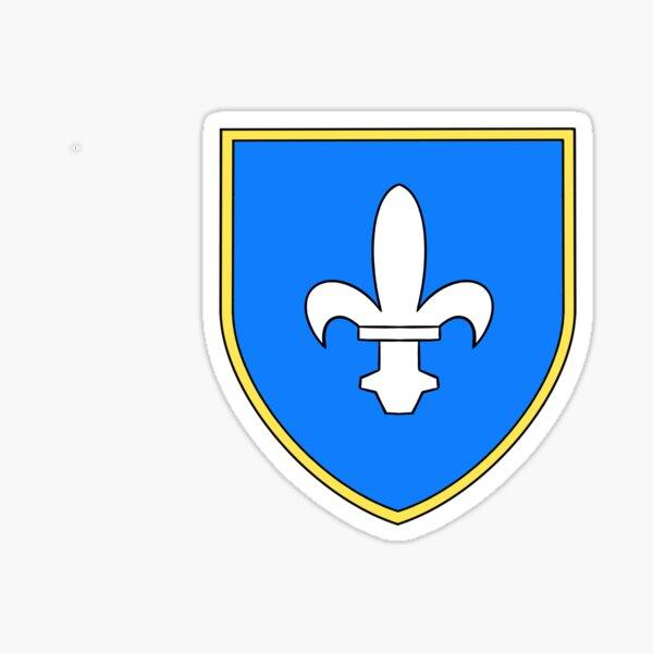 St. Mary Parish Crest, Jersey, Channel Islands Sticker