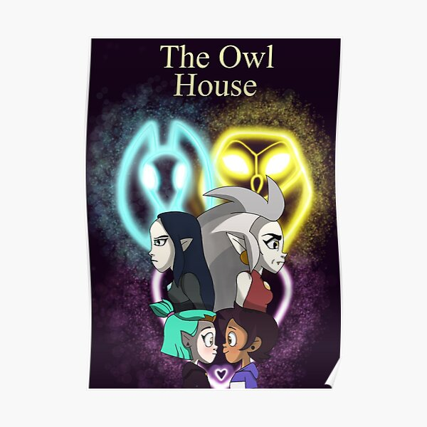 The Owl House CompactGerbil Poster