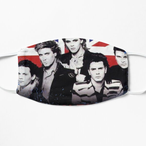 Classic English New Wave Pop Band Duran Duran Flat Mask